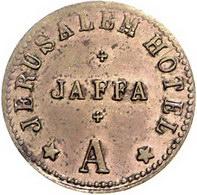 Wag Archiv Ausländische Münzen Und Medaillen Israel Cu Token